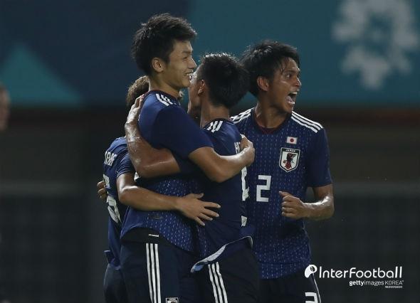 '우에다 골' 일본, UAE에 1-0으로 꺾고 결승행...한국과 金 맞대결
