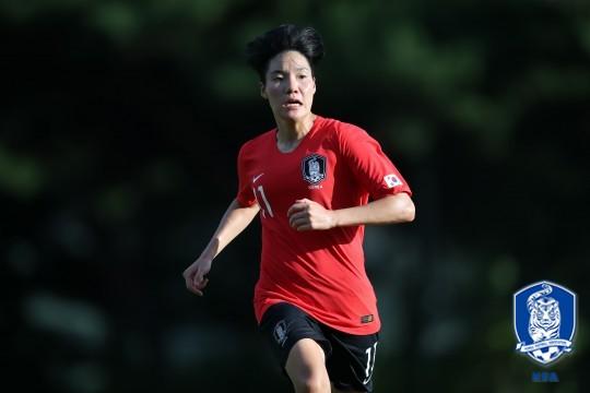 '이금민 추가골' 윤덕여호, 3-4위전서 2-0 리드(전반 진행 중)
