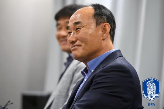 """김학범, """"K리그 감독들, AG에 선수 보내줘서 고맙다""""_이미지"""