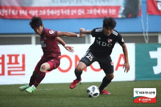 '호물로 결승골' 부산, 대전 원정서 1-0 승리