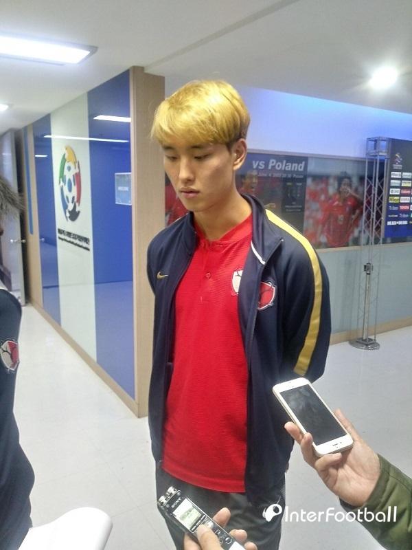 """정승현, """"한국 팀 상대하는 건 언제나 힘들다"""" (일문일답)"""