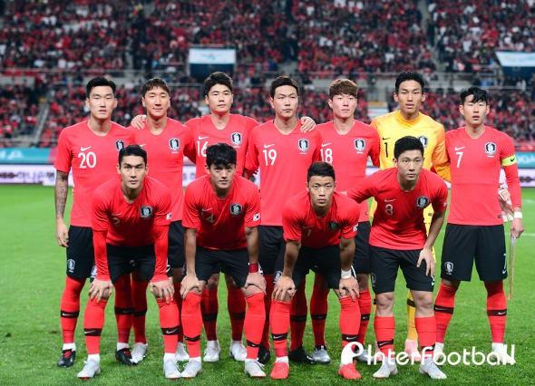 '10월 1승1무' 한국, 피파랭킹 53위...2계단 상승+아시아 4위