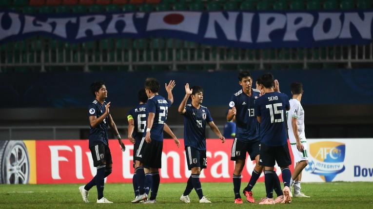'파죽지세' 일본, '개최국' 인도네시아 2-0으로 꺾고 4강행...U-20 WC 진출권 획득
