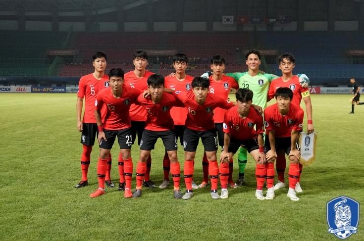 '전세진 결승골' 한국, 타지키스탄에 1-0 진땀승...U-20 WC 진출 확정
