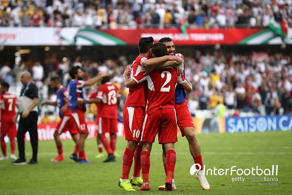 '1위 확정' 요르단, 팔레스타인과 0-0 무...B조 2위는 호주