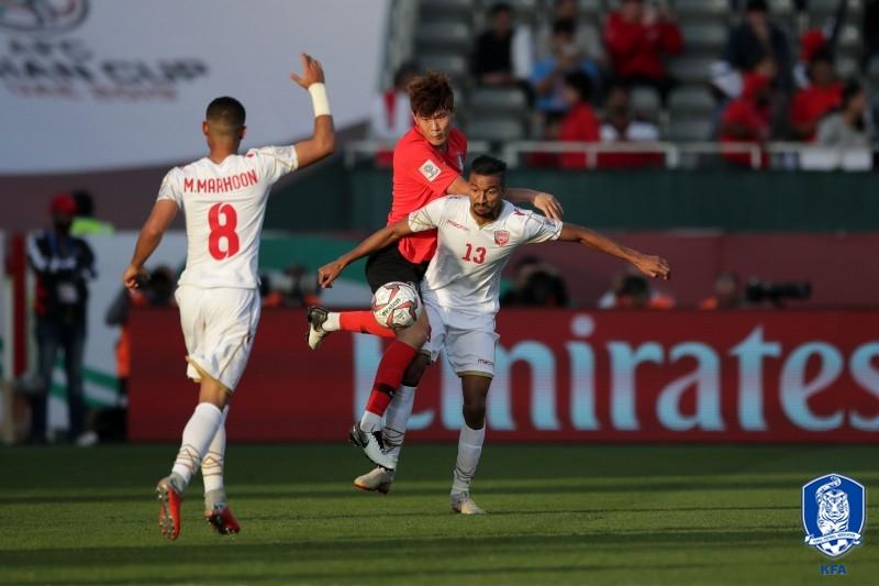 '대회 첫 실점' 한국, 바레인과 1-1 접전(후반 진행 중)_이미지