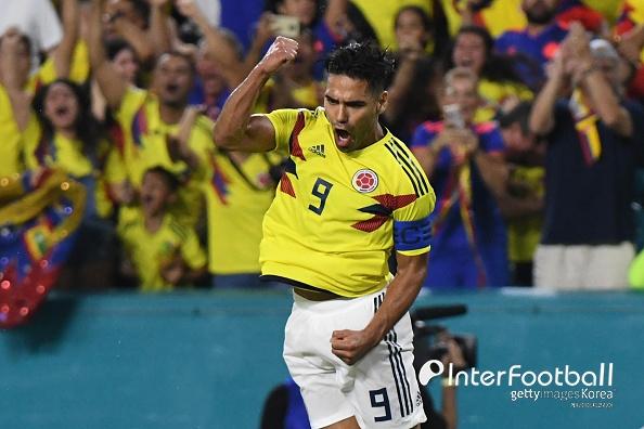 '팔카오 PK 결승골' 콜롬비아, 일본 1-0 제압...케이로스 첫승