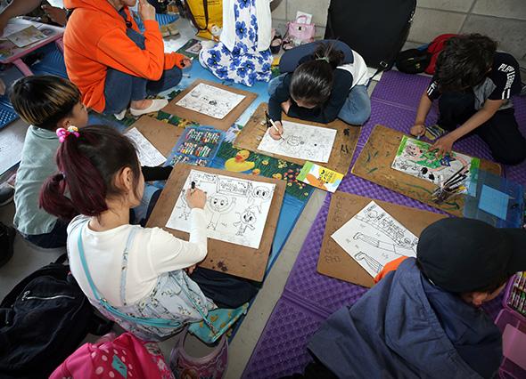 울산 현대, 28일 경남전 어린이 그림그리기 대회 개최