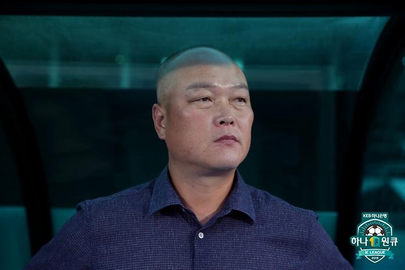 """상주 김태완, """"마지막 실점이 너무 안타깝다"""""""