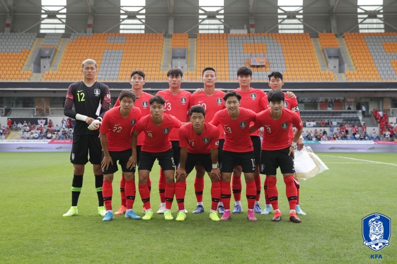 한국, 고전 끝 조지아에 먼저 실점...0-1 (전반 진행 중)_이미지