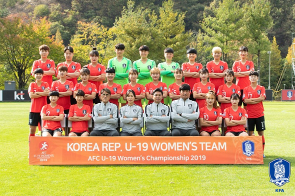 """'U-19 여자 대표팀' 허정재 감독, """"최선 다했지만 북한이 강했다"""""""
