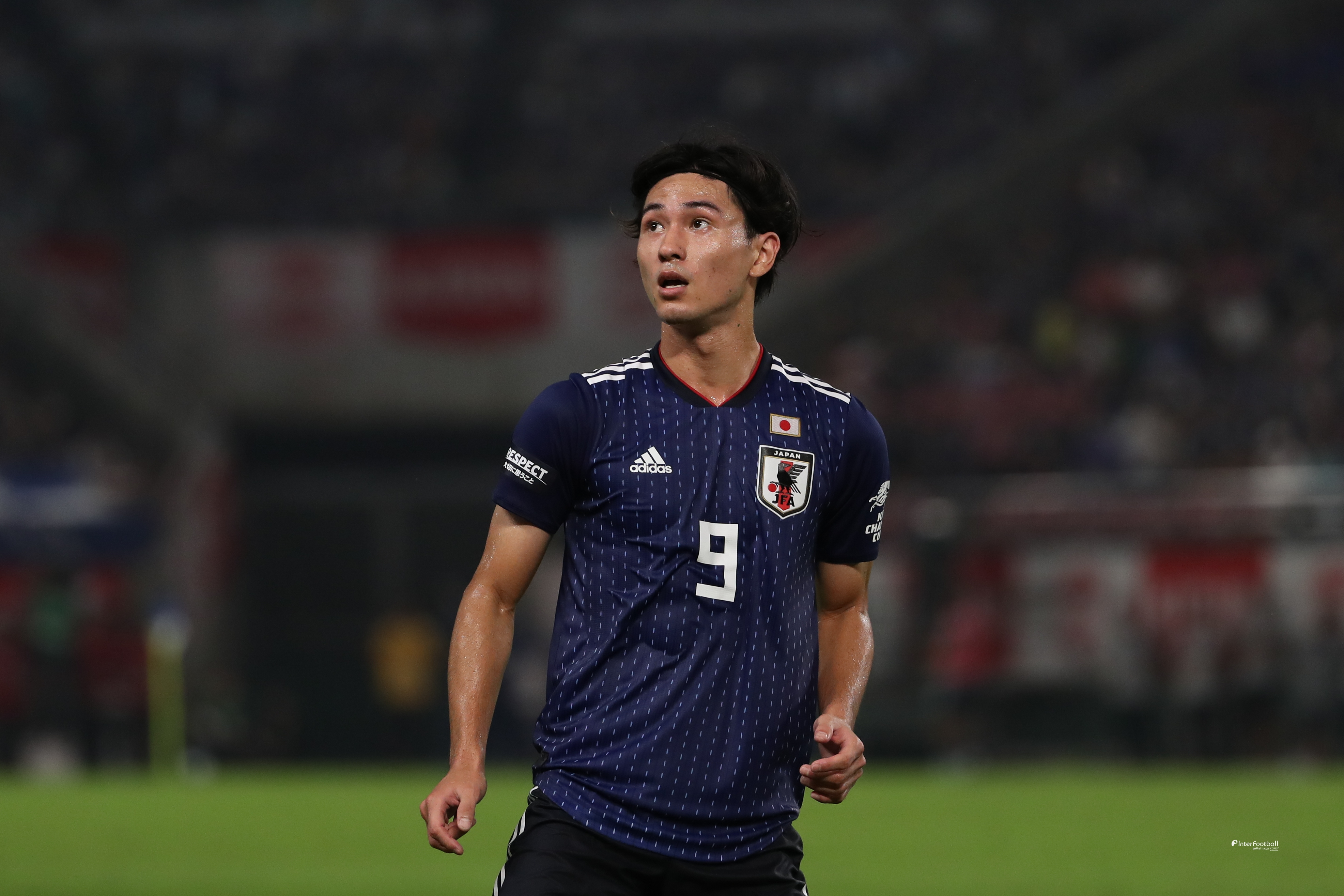 '미나미노 5G 연속골' 일본, 키르기스 2-0 완파...A매치 5연승