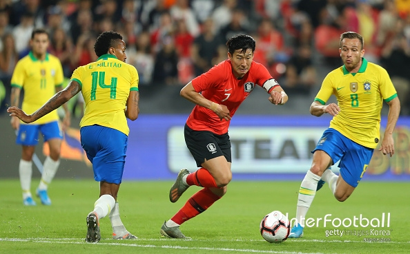 '브라질 벽 높았다' 한국, 브라질에 0-3 완패...전반에만 2실점_이미지