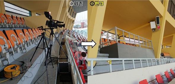 2020시즌 K리그, 경기장 카메라 플랫폼 공사 완료