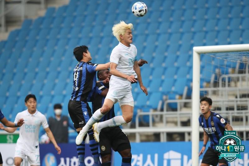 '골 결정력 부족' 인천-대구, 0-0 아쉬운 무승부