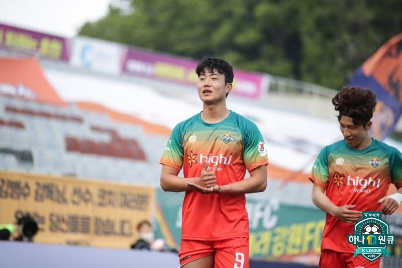 '감사합니다!' K리그, 춘천에서도 이어진 '덕분에 캠페인' 물결
